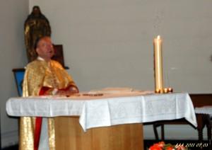 messe pour les victimes du massacre du 5 juillet 1962 à Opan par Monseigneur BOZ