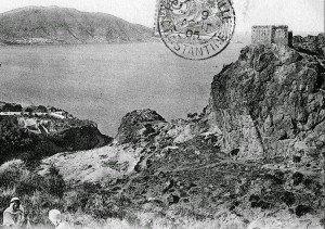 1897 le rocher de Ste Clotilde