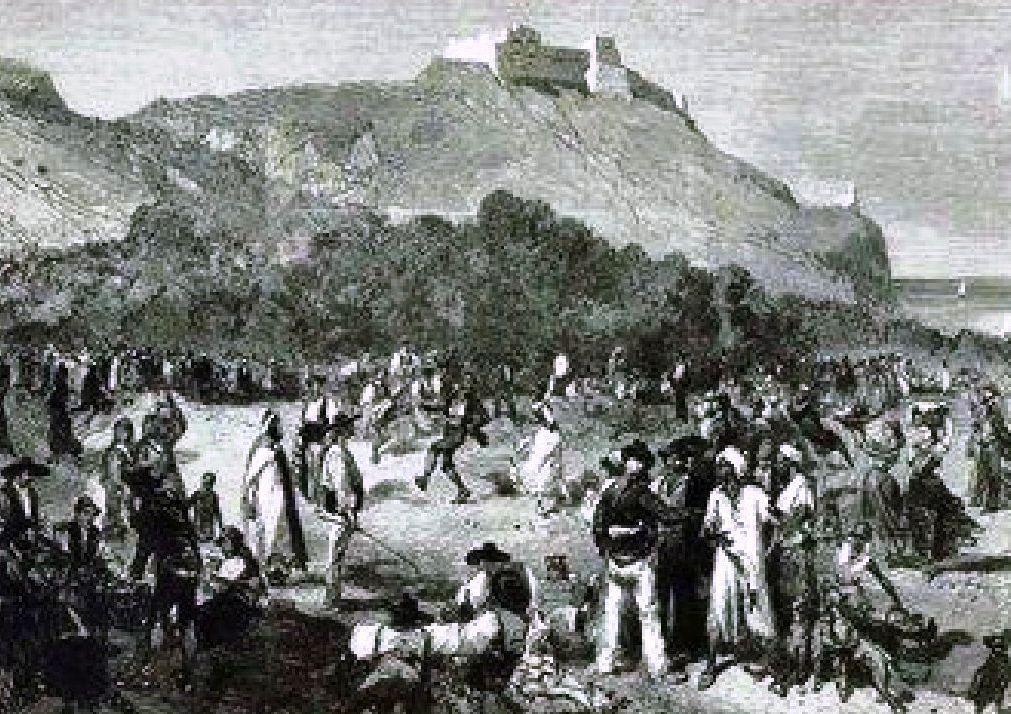 lundi de paques à Oran en 1873