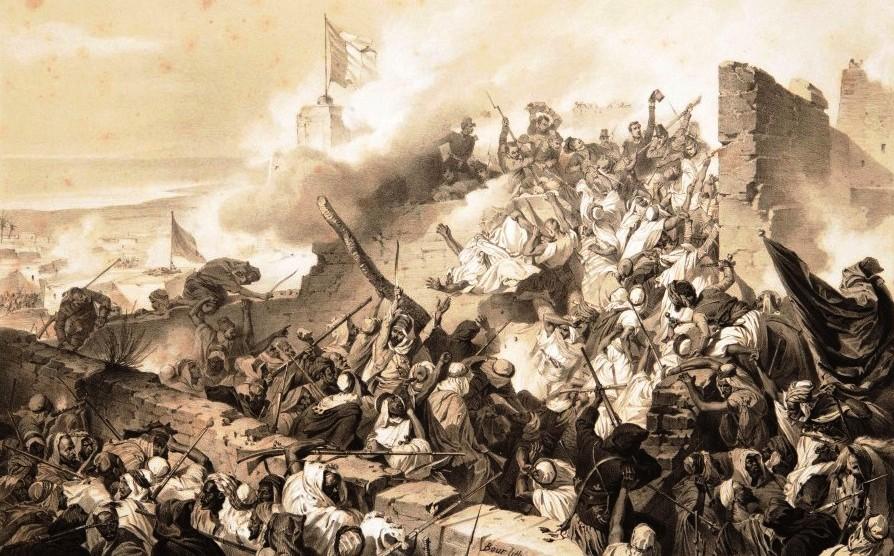 défense héroïque de MAZAGRAN février 1840