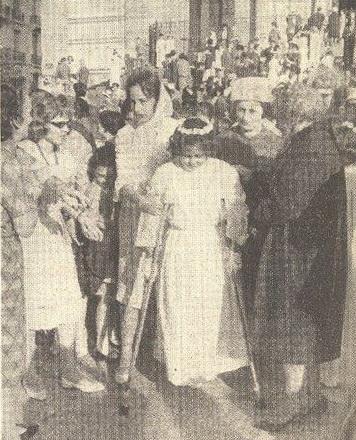 mai 1962  la dernière communion