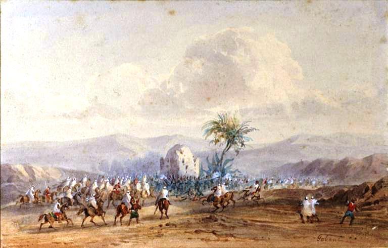 09 1845 défense hérïque du marabout de Sidi-Brahim