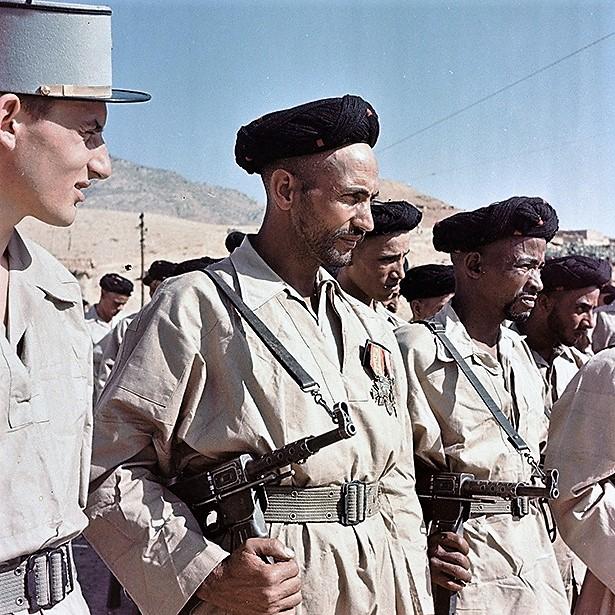 goumiers marocains 1955