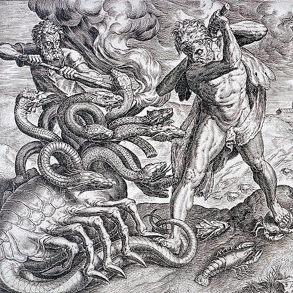 HERAKLES finira par vaincre le mythe de l'hydre