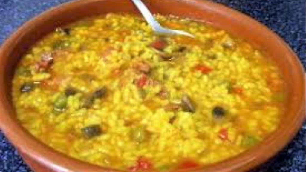 arroz en caldo