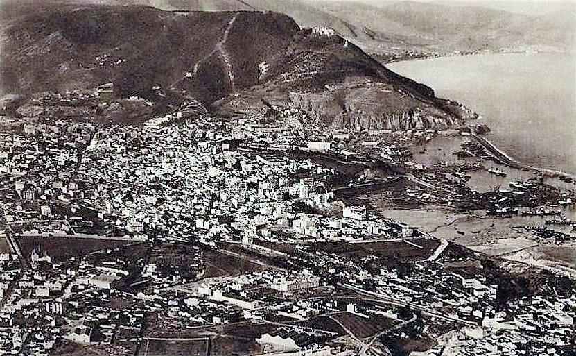 ORAN 1925 -murdjadjo , ville port , remparts , faubourgs