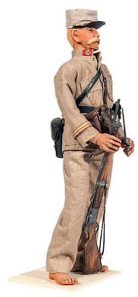 Lieutenant Gabriel GARDEL-Compagnie  Saharienne du Tidikelt -Hoggar - combat  d'Esseyen 1913