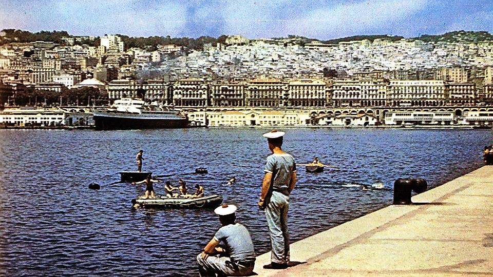 Alger port 1960