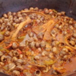 frita aux escargots