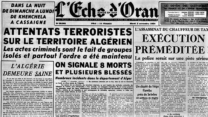 l'Algérie c'est la France !