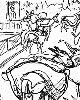 rampe des zouaves