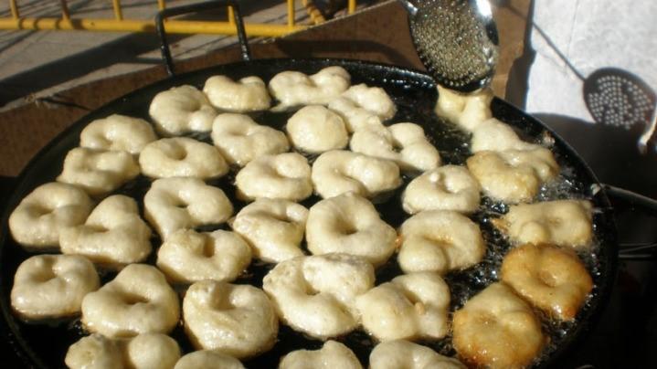 bougniouéloss en friture