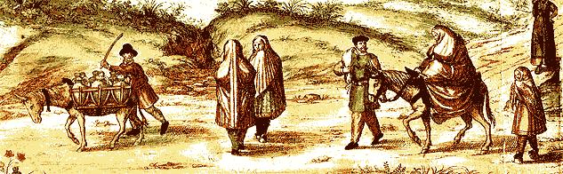 1563 Moriscos , morisques , Granada