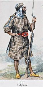 tirailleur indigène 1836