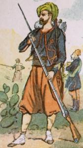 zouave 1831